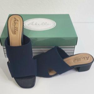 Abella Marquee Navy Mesh sandals